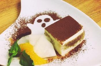Halloween★麹を使った豆乳ティラミスの写真